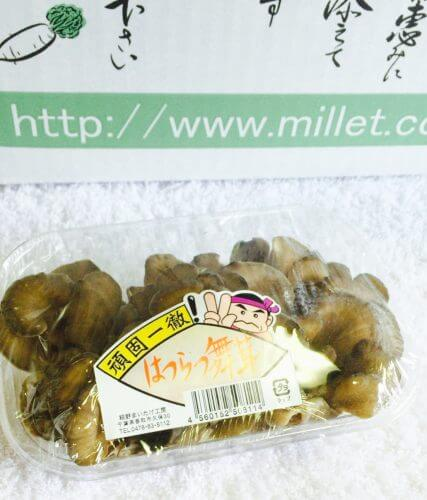 宅配食材のミレーの舞茸