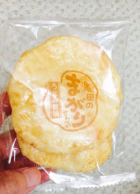 亀田製菓のまがりせんべい
