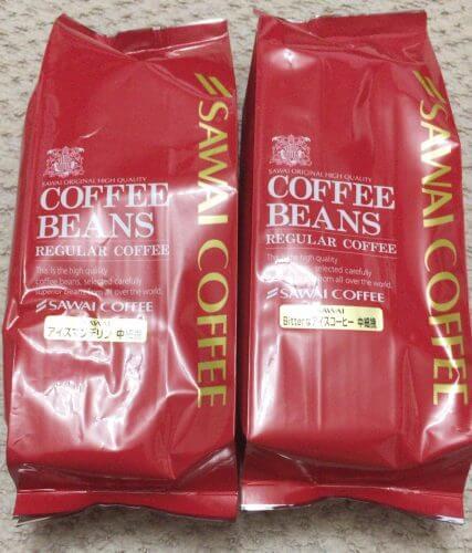 澤井珈琲の水出し珈琲ポットセットのコーヒー