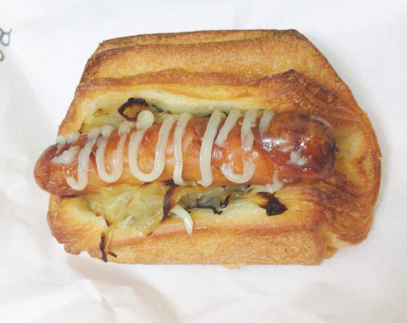 渋谷ブールアンジュのソーセージのパン