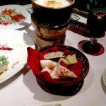 横浜チーズカフェのチーズフォンデュ