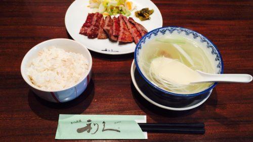 牛たん炭焼利休の定食
