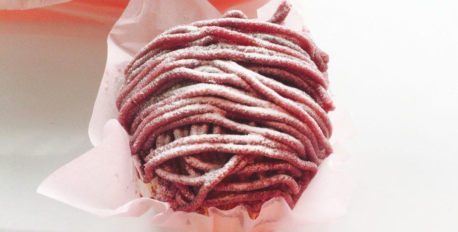 銀座コージーコーナーの紅芋モンブラン