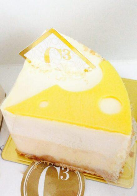 シーキューブのチーズケーキ