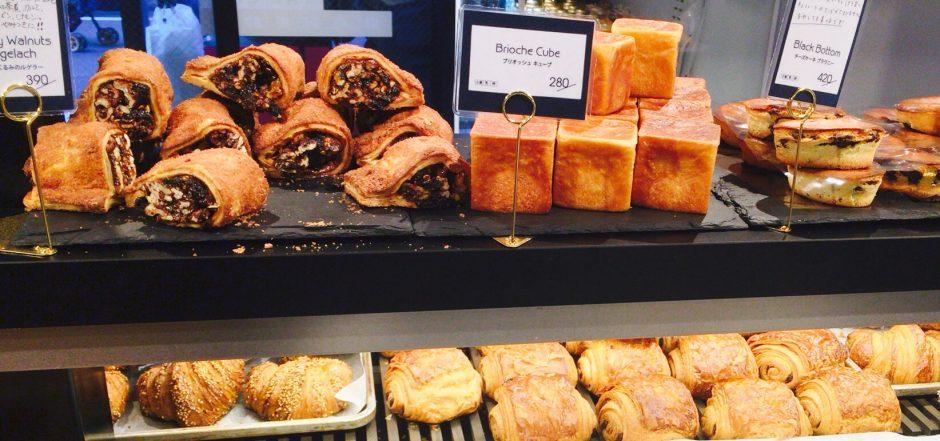 シティベーカリー中目黒に陳列されていたパン
