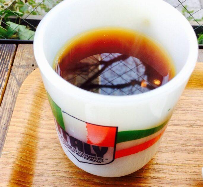 市ヶ谷チリパーラー9のコーヒー