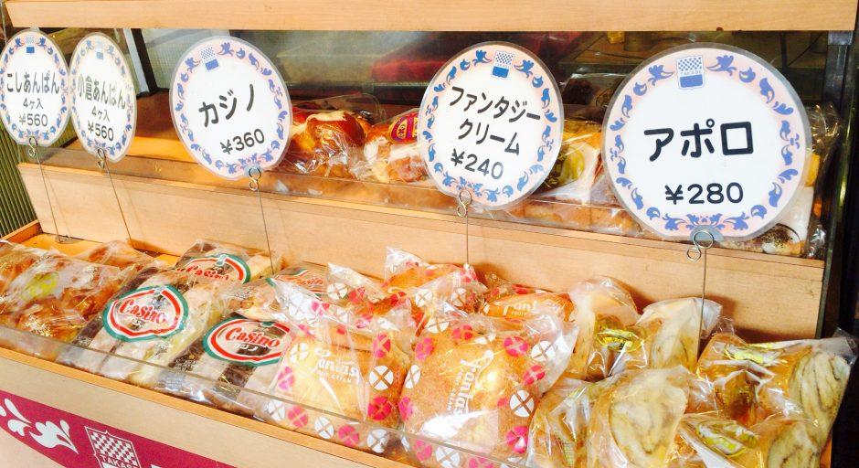 タカセ池袋本店は名物パンが多い