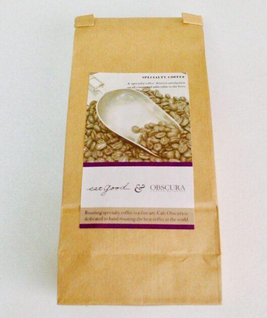 市ヶ谷チリパーラー9のコーヒー豆