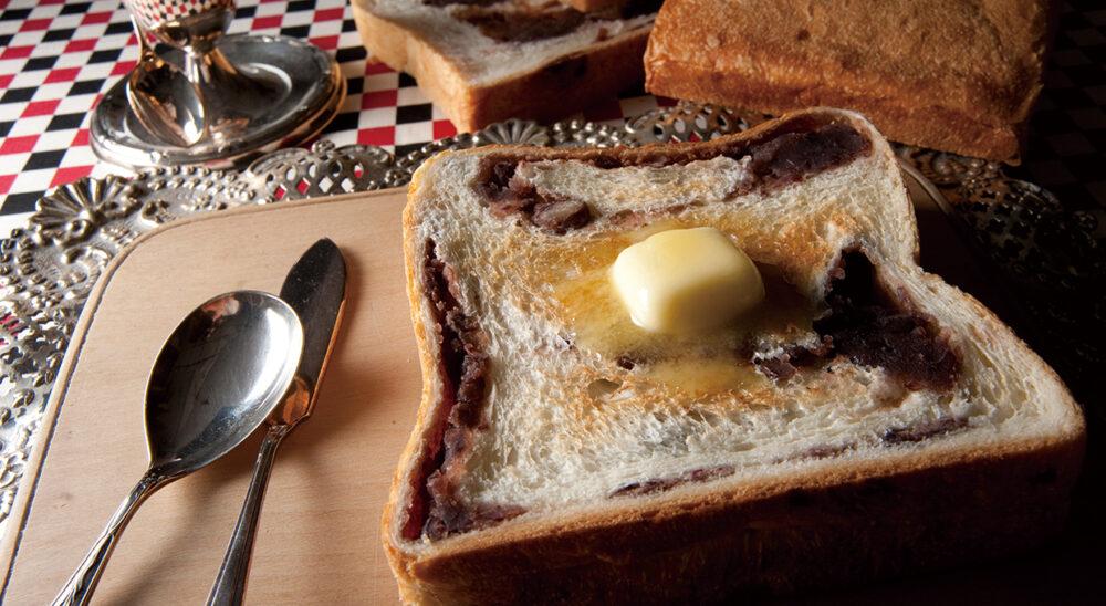 アンティークであん食パン