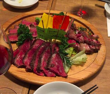 熟成肉バル 肉アバンギャルドの肉