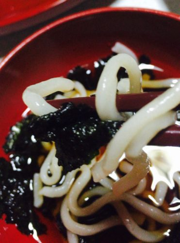 讃岐うどん【つるわ】の細切り麺を実食