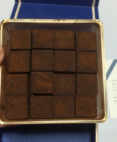 生チョコ専門店cacaoのアロマチョコを開封