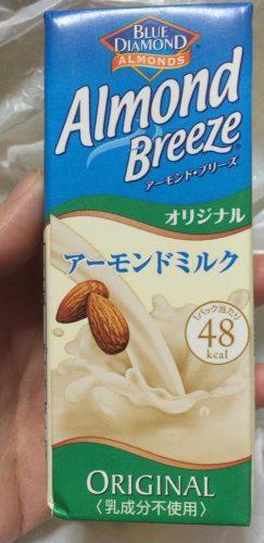 アーモンドミルク飲料アーモンドブリーズ