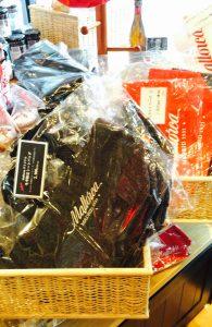 二子玉川パステレリア マヨルカの店舗にあったマヨルカのバッグ