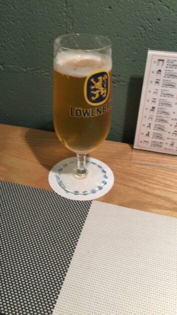Cafe Normale(カフェ ノルマーレ)で飲んだビール