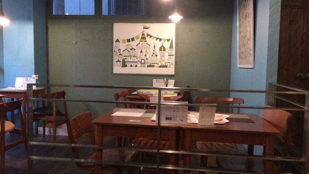 下北沢Cafe Normale(カフェ ノルマーレ)の内観