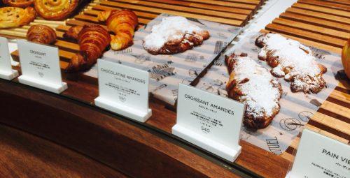 青山リチュエル パー クリストフ ヴァスールの店内にあるパン