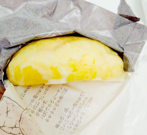 八天堂のメロンパンのカスタード