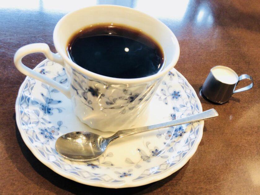 シルビアコーヒー新橋銀座で注文したコーヒー