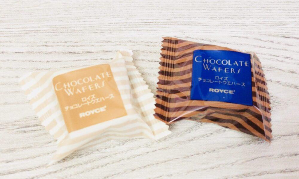 ロイズチョコの詰め合わせのチョコ
