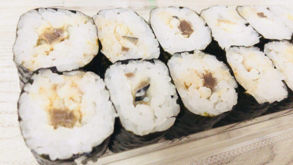 美登利寿司のトロサバ巻き
