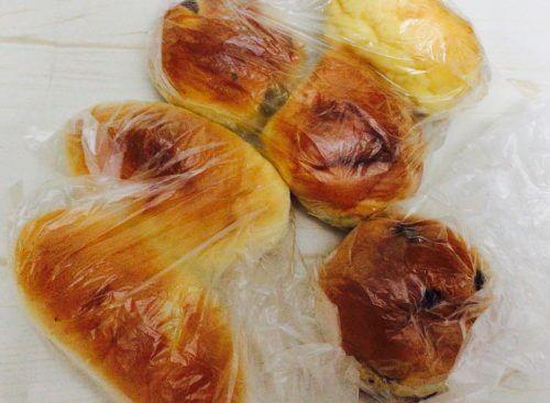 新中野のミルクロールで購入したパンたち