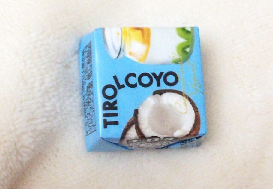 ココナッツミルクヨーグルトのチロルチョコ