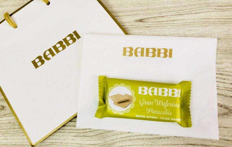 babbi(バビ)のウエハースピスタチオ味