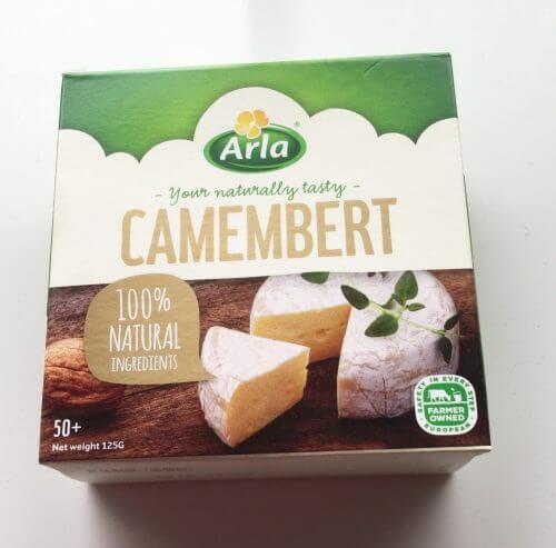 アーラのカマンベールはクリーミーでとてもおいしい