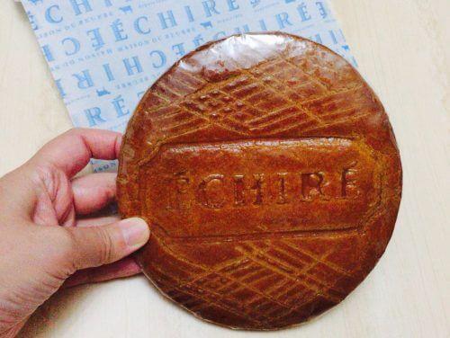エシレバターで購入した巨大クッキー(ブロワイエ・デュ・ポワトゥー)