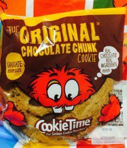 クッキータイムのオリジナルチョコレートチャンク