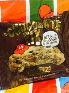 クッキータイムのチョコレートフィックスクッキー