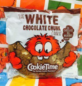 クッキータイムのホワイトチョコレートチャンククッキー