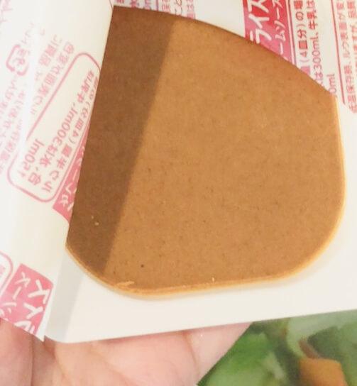 シチューオンライスカレークリームソース