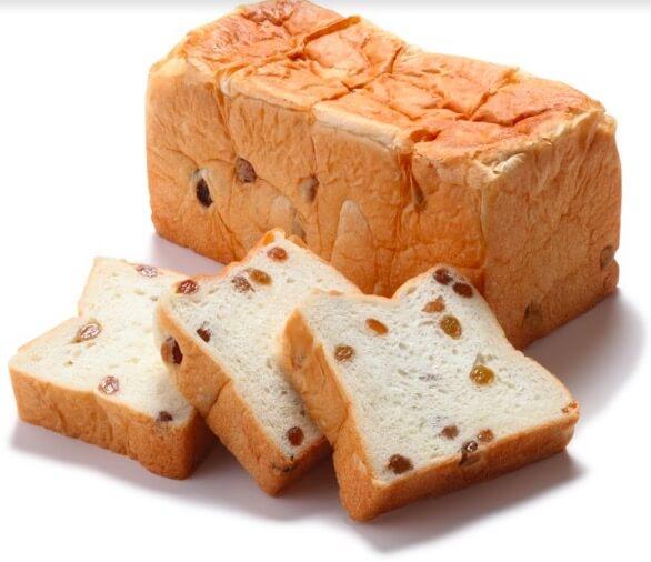 中野坂上の食パン専門店うん間違いない!レーズン味