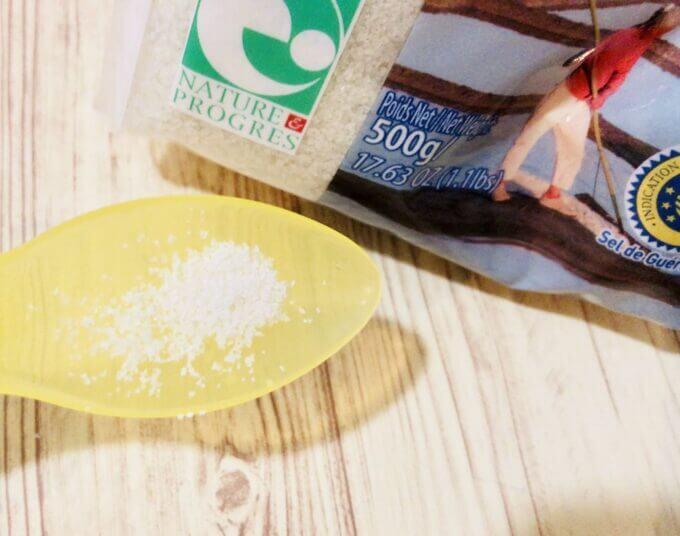カルディで購入したセル ファンという塩