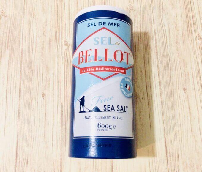カルディで購入したBELLOT(ベロ)という塩