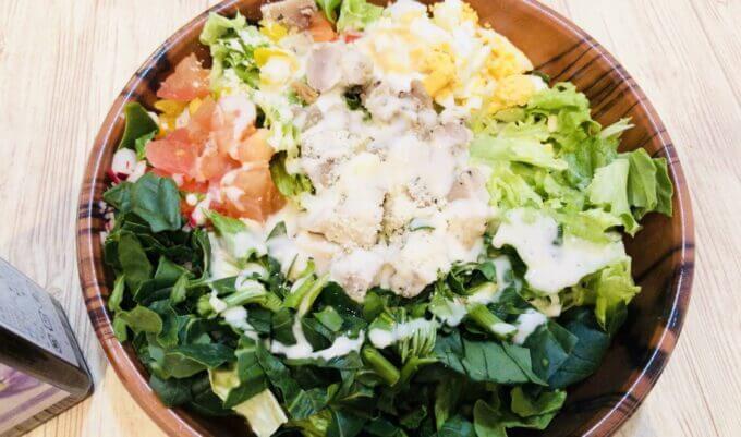 新宿ディーアイワイ サラダ & デリカテッセンのロカボサラダ